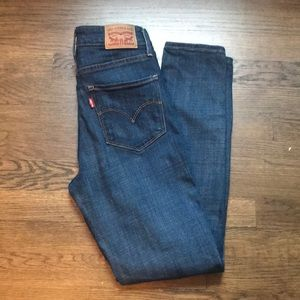 Levis 721 High rise denim